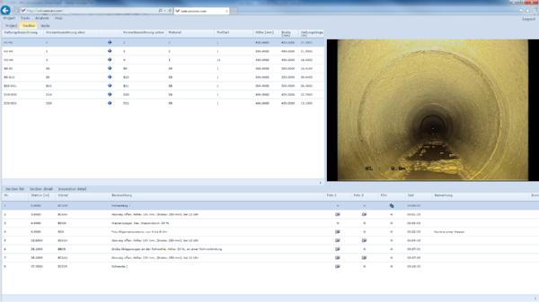 WinCan Web Sewer Asset Management